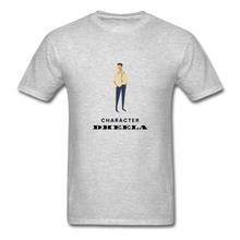 Load image into Gallery viewer, Character Dheela Basic T-Shirt - heather gray