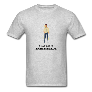 Character Dheela Basic T-Shirt - heather gray