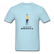 Load image into Gallery viewer, Character Dheela Basic T-Shirt - powder blue