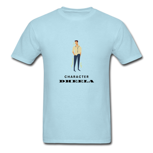 Character Dheela Basic T-Shirt - powder blue