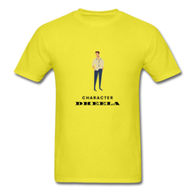 Load image into Gallery viewer, Character Dheela Basic T-Shirt - yellow