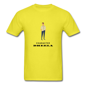 Character Dheela Basic T-Shirt - yellow