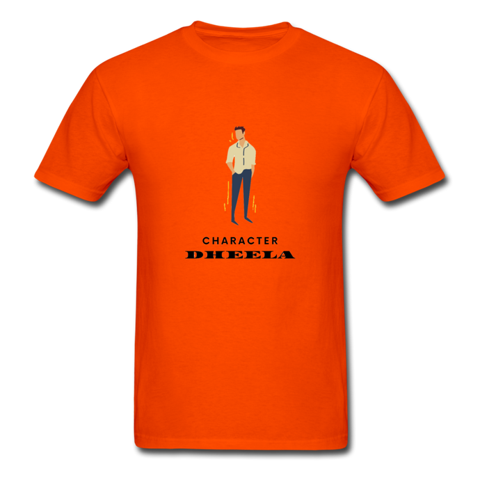 Character Dheela Basic T-Shirt - orange