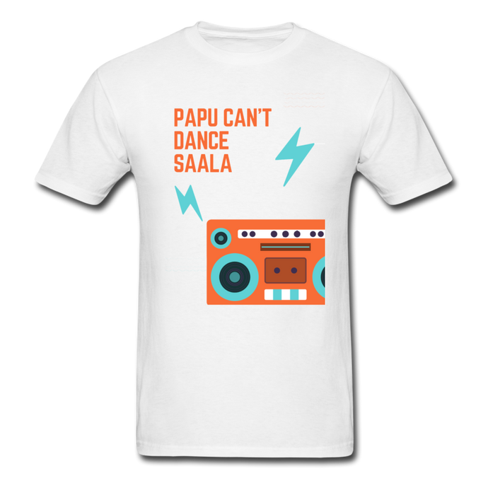 Papu Cant Dance Basic T-Shirt - white