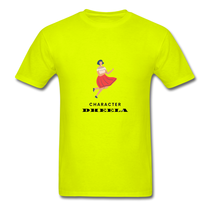 Character Dheela Basic T-Shirt - safety green