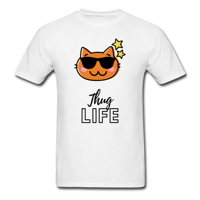 Thug Life Basic T-Shirt - white