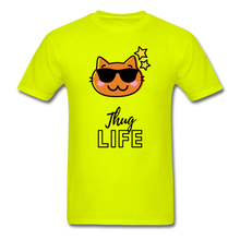 Load image into Gallery viewer, Thug Life Basic T-Shirt - safety green
