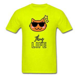 Thug Life Basic T-Shirt - safety green