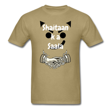 Load image into Gallery viewer, Shaitaan Ka Saala Basic T-Shirt - khaki