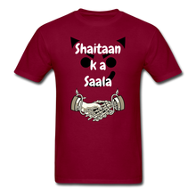 Load image into Gallery viewer, Shaitaan Ka Saala Basic T-Shirt - burgundy