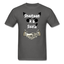 Load image into Gallery viewer, Shaitaan Ka Saala Basic T-Shirt - charcoal