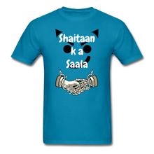 Load image into Gallery viewer, Shaitaan Ka Saala Basic T-Shirt - turquoise