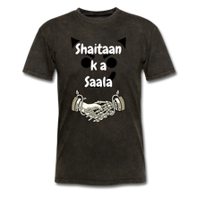 Load image into Gallery viewer, Shaitaan Ka Saala Basic T-Shirt - mineral black