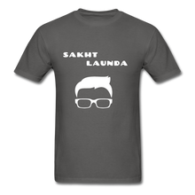 Load image into Gallery viewer, Sakht Launda Basic T-Shirt 2 - charcoal