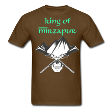 Load image into Gallery viewer, King of Mizrapur Men's T-Shirt - brown