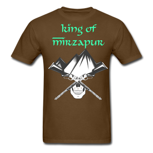 King of Mizrapur Men's T-Shirt - brown