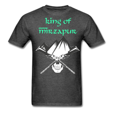 Load image into Gallery viewer, King of Mizrapur Men's T-Shirt - heather black