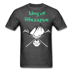 King of Mizrapur Men's T-Shirt - heather black