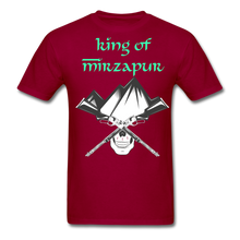 Load image into Gallery viewer, King of Mizrapur Men's T-Shirt - dark red