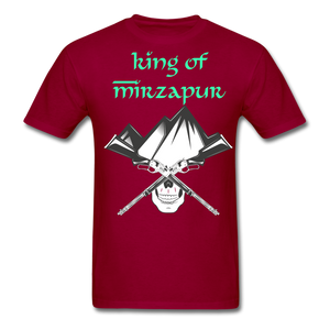 King of Mizrapur Men's T-Shirt - dark red