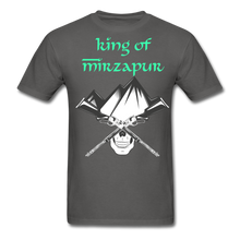 Load image into Gallery viewer, King of Mizrapur Men's T-Shirt - charcoal