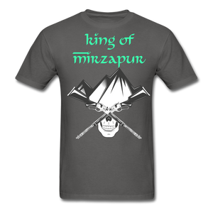 King of Mizrapur Men's T-Shirt - charcoal