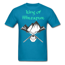 Load image into Gallery viewer, King of Mizrapur Men's T-Shirt - turquoise