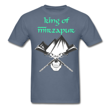 Load image into Gallery viewer, King of Mizrapur Men's T-Shirt - denim