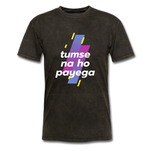Load image into Gallery viewer, Tumse na ho payega basic T-Shirt - mineral black