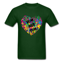Load image into Gallery viewer, Hum Tum Unisex Classic T-Shirt - forest green
