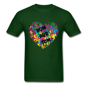Hum Tum Unisex Classic T-Shirt - forest green