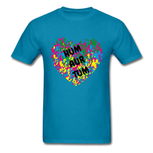 Load image into Gallery viewer, Hum Tum Unisex Classic T-Shirt - turquoise