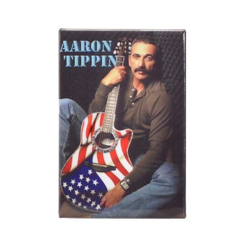 Aaron Tippin American Photo Magnet