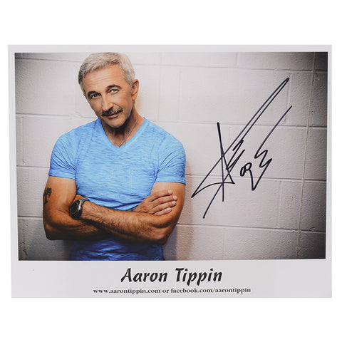 "Aaron Tippin '25 Years' 8x10"" Photo (AUTOGRAPHED!)"