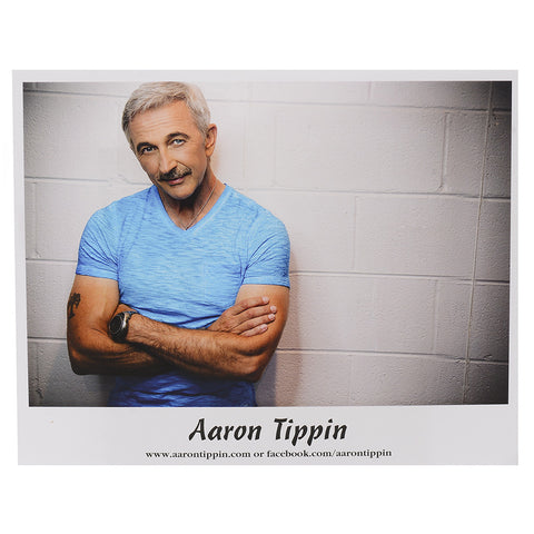 "Aaron Tippin '25 Years' 8x10"" Photo"