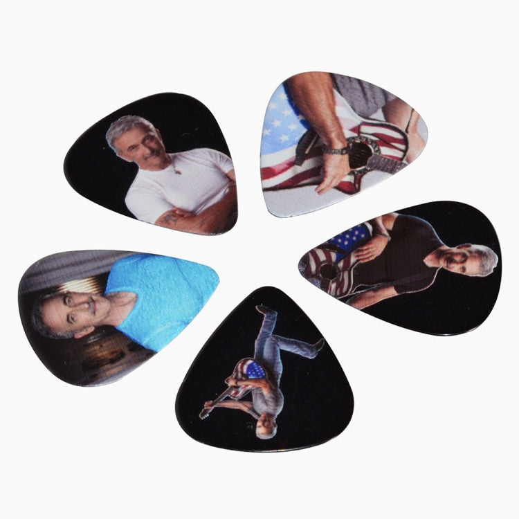 Aaron Tippin Action Shot Guitar Picks (Set of 5)