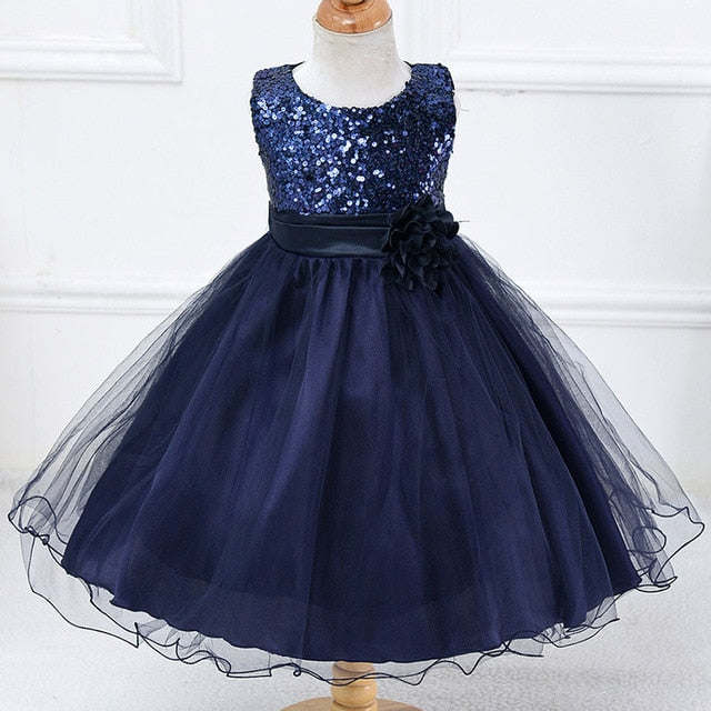 Beautiful Lace Flower Party Dress - Dream Town Store