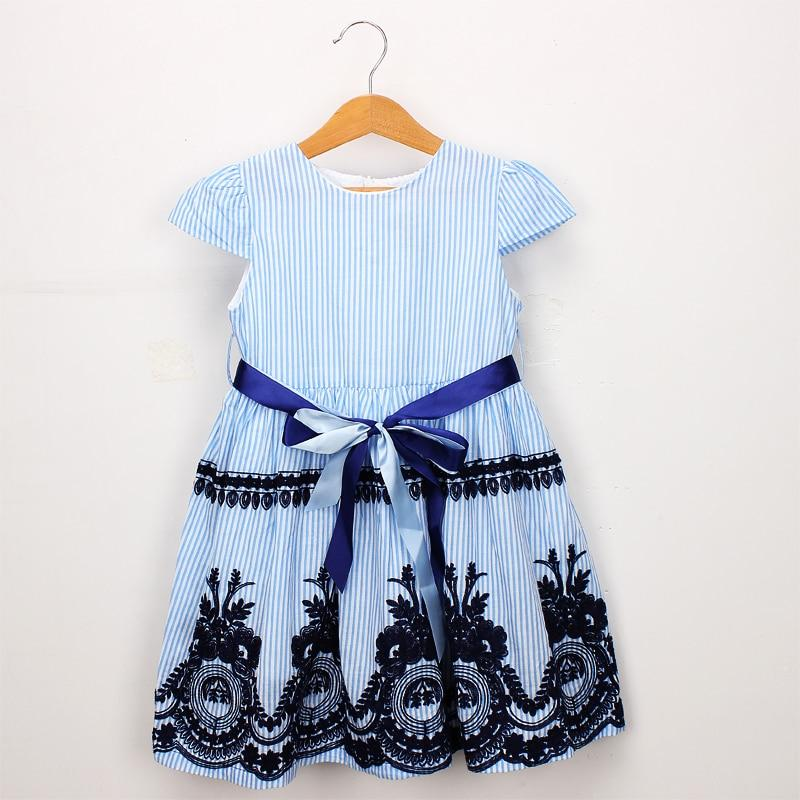 Beautiful Embroidered Cotton Dress - Dream Town Store