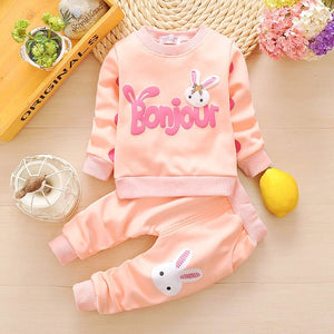 Cartoon Baby Girls Clothing Sets - Dream Town Store