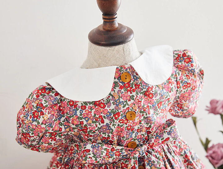 Beautiful Hand Smocked Dress, 12M to 6T.