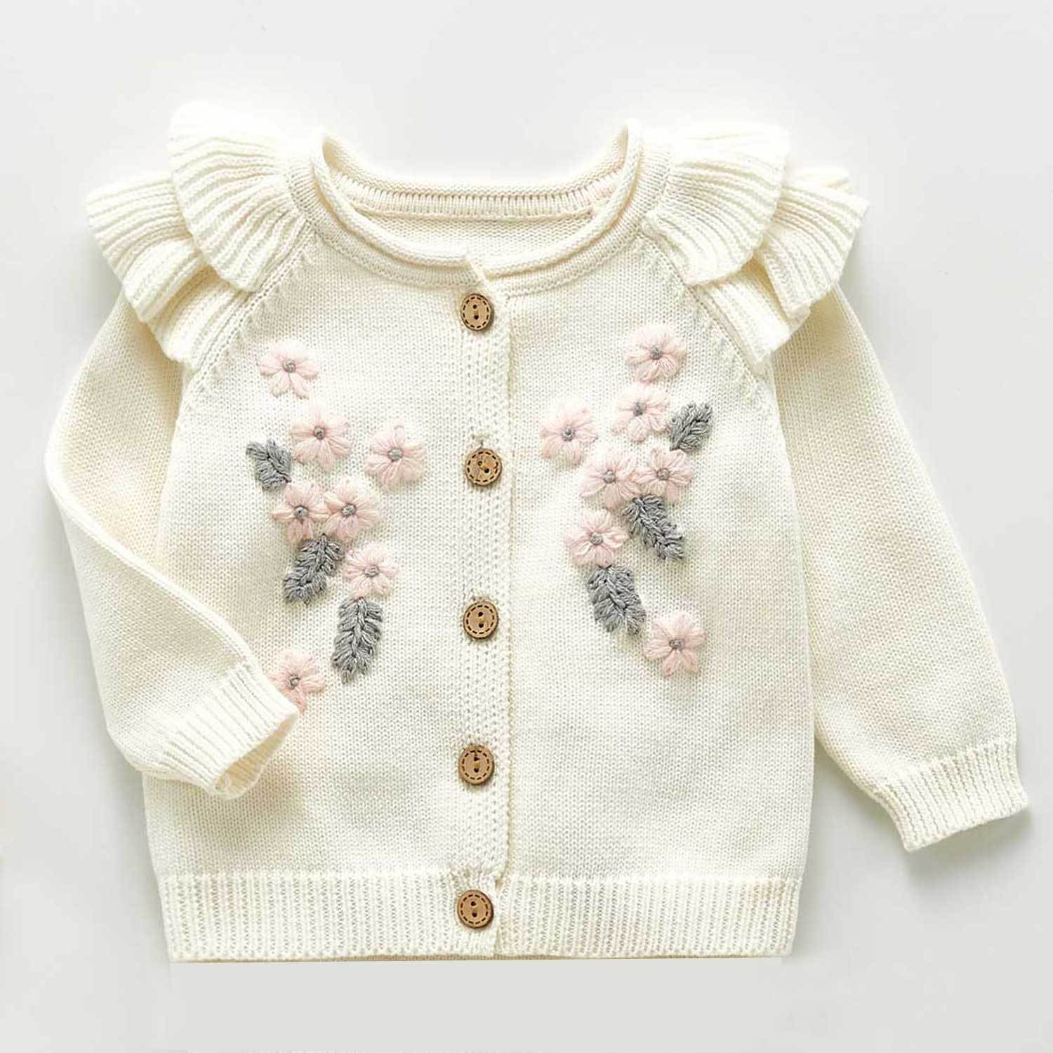 Cutest Knitted Sweater & Jumpsuit,6M to 3T.