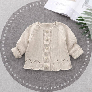 Cute Baby Knitted Cardigan,9M to 4T.