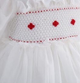 Hand Smocked Tutu Dress, 12M to 6T.
