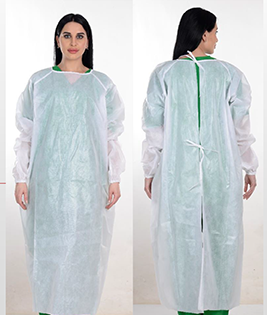 Disposable Medical Gown AAMI Level 1 Model 3C