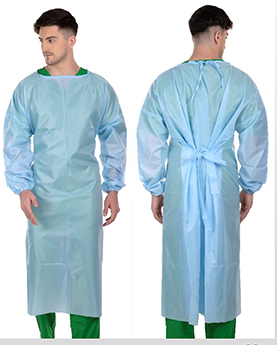 Disposable Medical Gown AAMI Level 2 Model 4CI