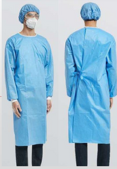 Disposable Medical Gown AAMI Level 2 Model 4CHZD