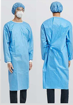Disposable Medical Gown AAMI Level 2 Model 4CJSG