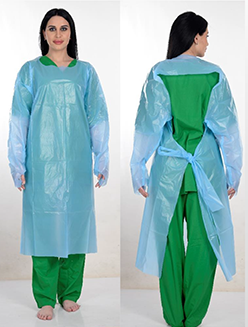 Disposable Medical Gown AAMI Level 3 Model 1B