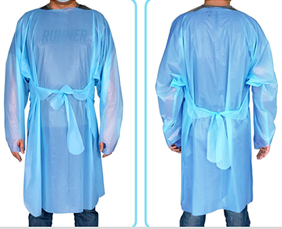 Disposable Medical Gown AAMI Level 3 Model 1C