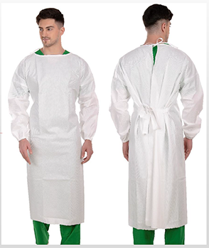 Disposable Medical Gown AAMI Level 3 Model 5CI